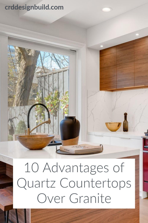 10 Advantages Of Quartz Countertops Over Granite Quartz Countertops Countertops Clean Quartz Countertops