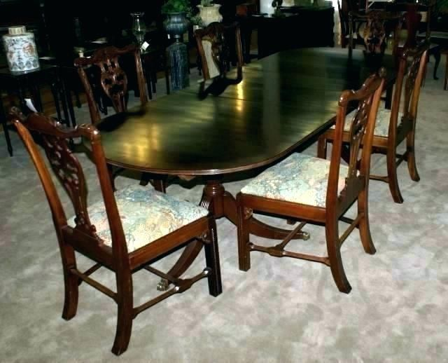 Mahogany Dining Room Set Chairs Sets Table