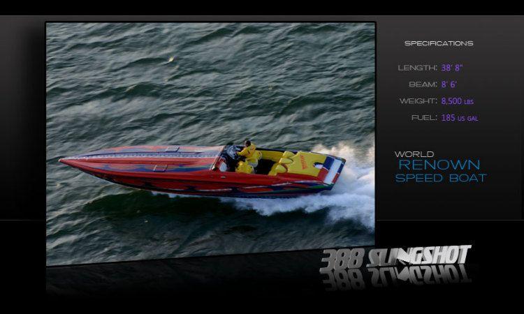Hustler high performance boat