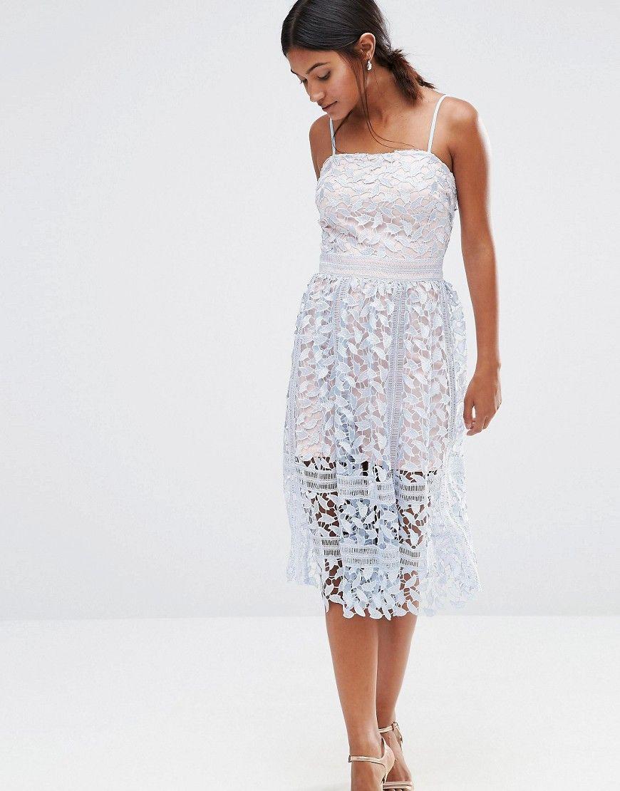 Boohooexclusivepremiumlacemididress Fashion Dresses