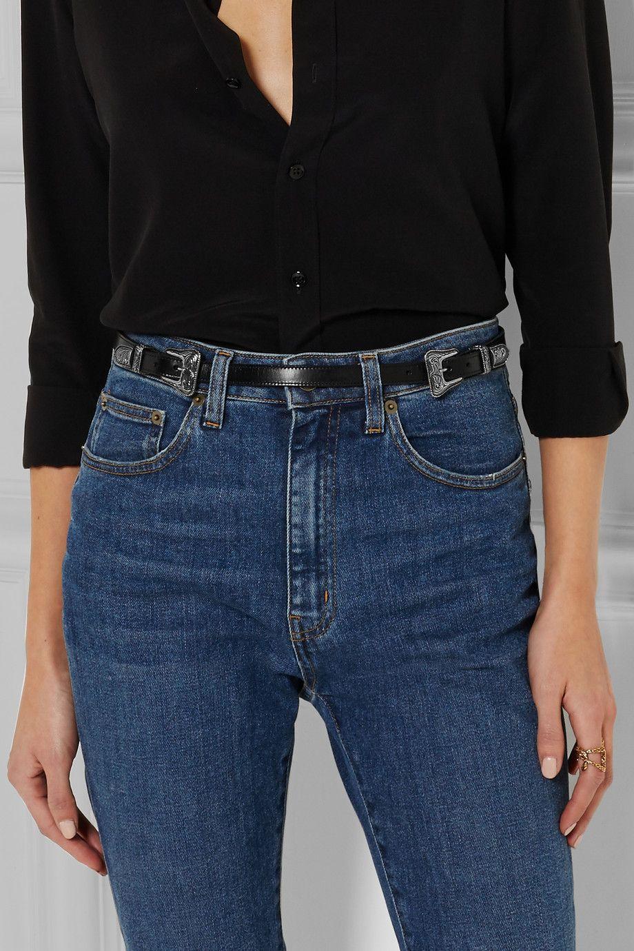 Saint Laurent | Leather belt