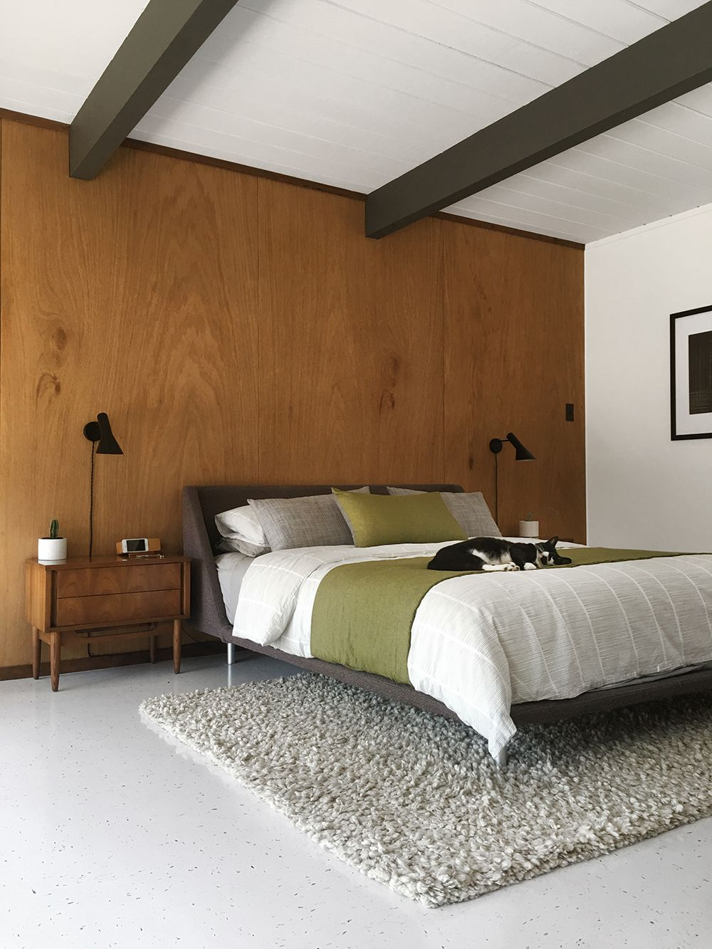 . Mid century modern lighting ideas for the bedroom