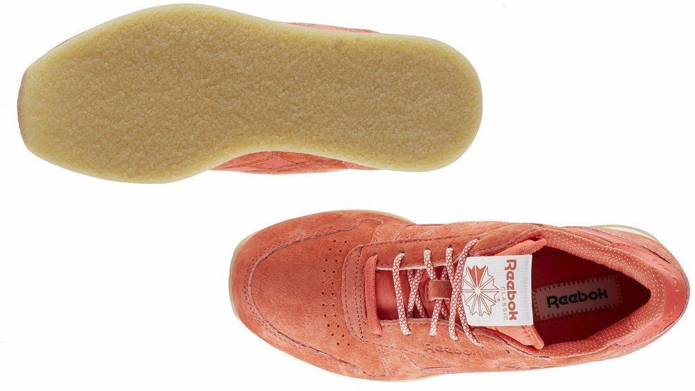 salir aleatorio No se mueve  Men's Reebok CLASSIC LEATHER CREPE SAIL AWAY Coral/White/Collegiate Navy  BD3046 #Reebok #BD3046 | Reebok classic, Classic leather, Reebok