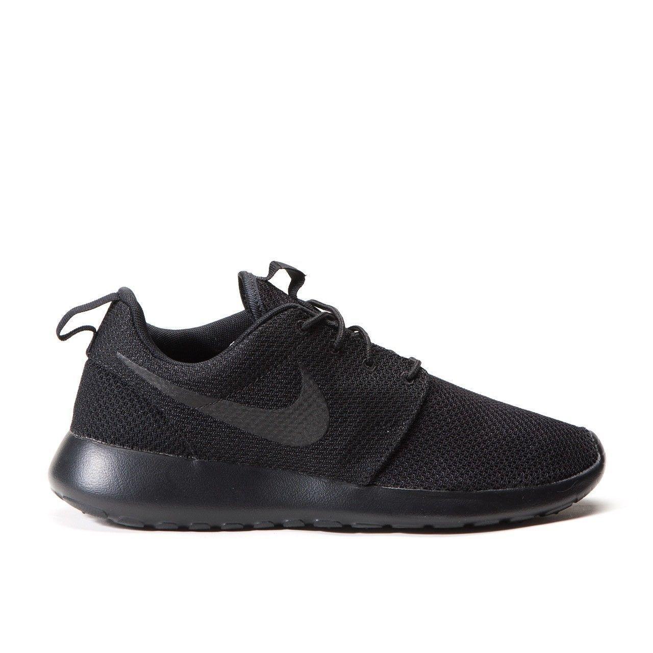 Nike Mens Rosherun Running Shoe Black/Black 511881-026