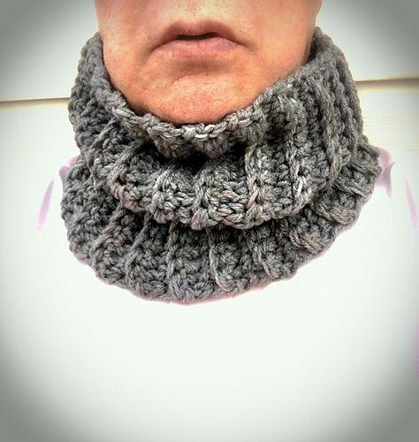 Ravelry Mens Ribbed Neck Warmer Pattern By V Nol Knitting Hats