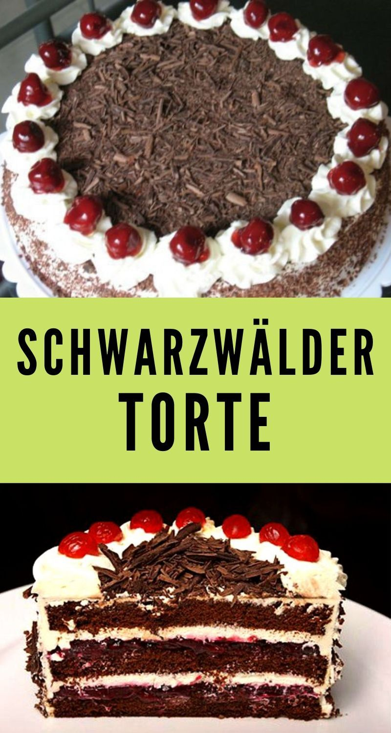 Schwarzwalder Torte Mexican Food Recipes Food Pizzelle Recipe