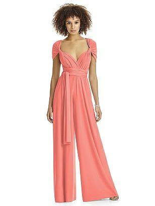 ginger Twist Wrap Jumpsuit #bridesmaidjumpsuits