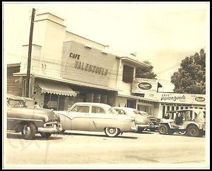 Details about 1950s BULACAN Philippines CAFE VALENZUELA Black