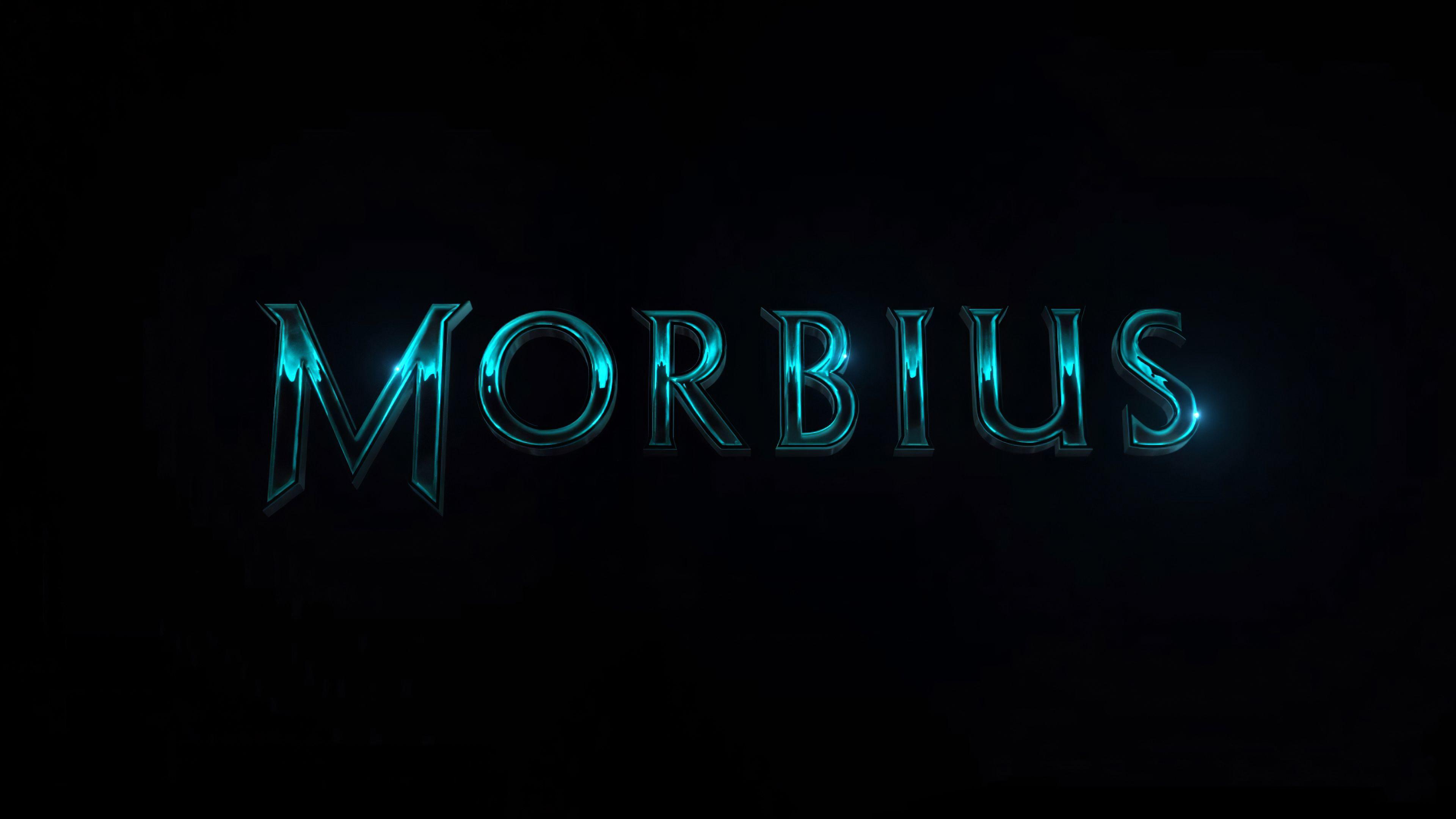 Morbius 2020 Logo Morbius 2020 Logo wallpapers 4k, Morbius