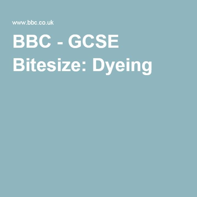 Bbc gcse bitesize dyeing antares whos who pinterest gcse bitesize dyeing urtaz Gallery