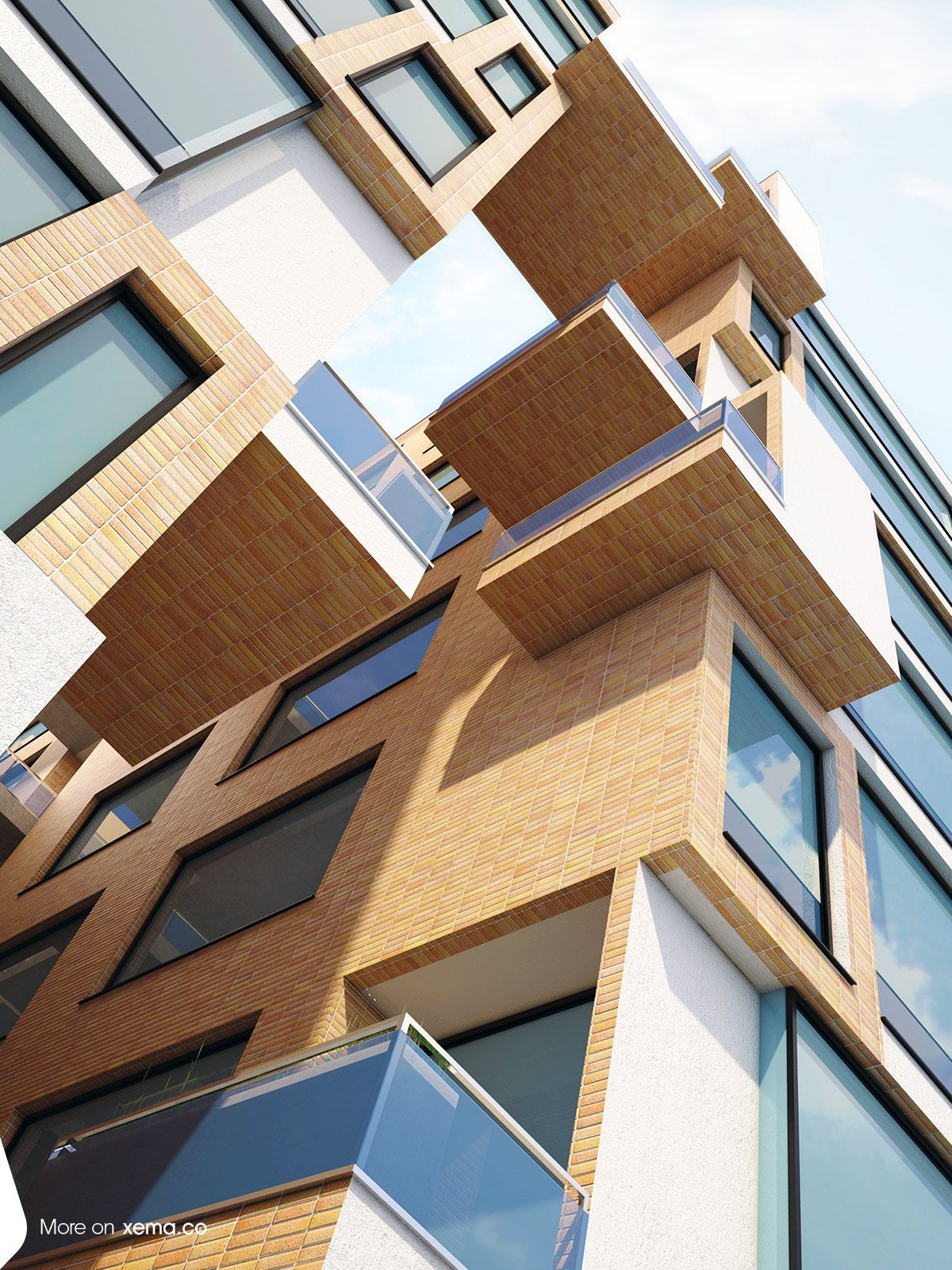 Sepah Bank Residential Complex | Tehran, Iran | 2013 | 21000 m2  | Designer: Reza Mafakher  | Full info : http://www.xema.co/projects/detail/67 |  #sepah_bank_residentioal_complex #architecture #xema #minimal #avantgarde #rezamafakher #xema_the_evolutionizer