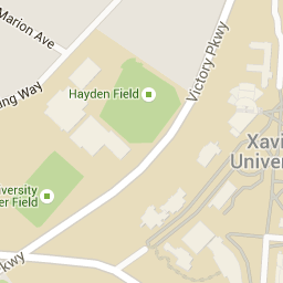 Xavier University - About Xavier - Campus Map | Where they ...