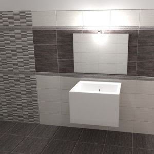 Piastrelle per rivestimento bagno e cucina effetto pietra moderno naxos serie clio ...