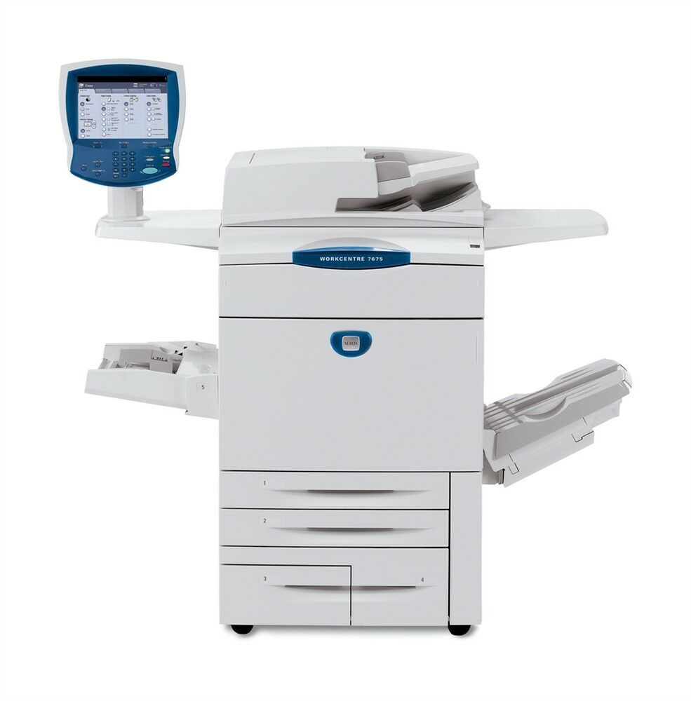 Xerox Workcentre 7655 Color Multifunction Printer Xerox