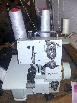 Problemas De Costura Con Overlock Curso Maquina De Coser Baul De Las Costureras Tensión En La Máquina De Coser
