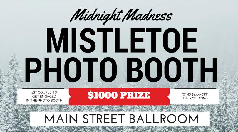 Win 1000 off your wedding venue at Main Street Ballroom's