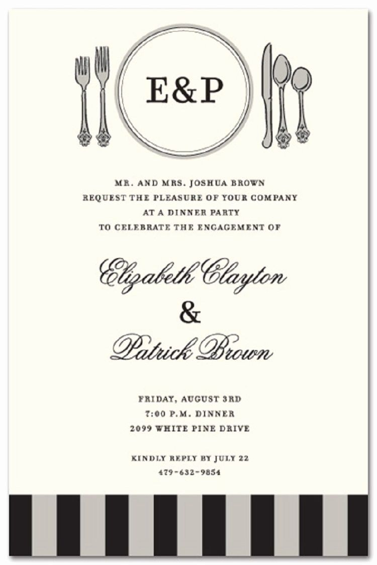 Invitation Announcement For Party Elegant Formal Party Invitation Wording Invitatio In 2020 Invitation Templates Word Party Invite Template Dinner Invitation Template