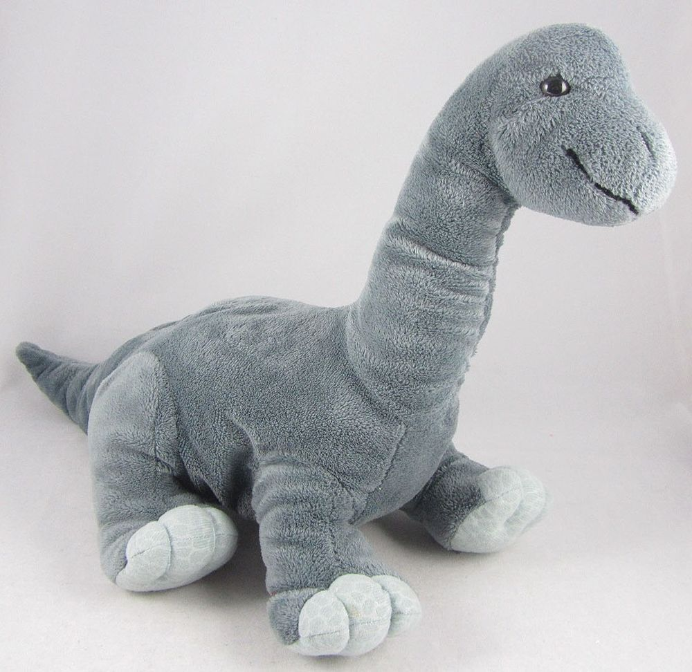 Kohls Cares For Kids Gray Dinosaur Brontosaurus Plush