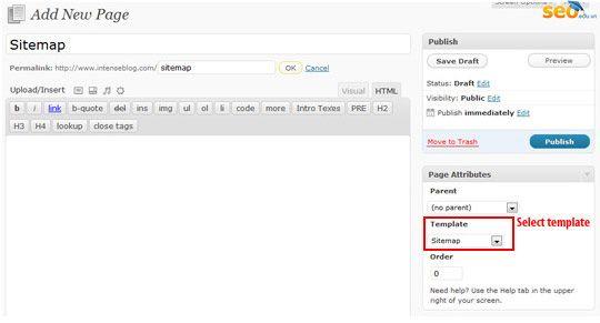 hướng dẫn tạo sitemap xml và sitemap html cho websiteseo thu thuat