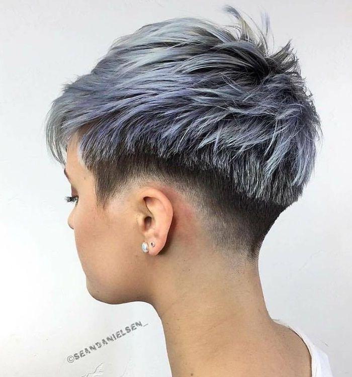 28 x extrem Trendy grau Frisuren! - kurzhaarfrisuren Frauen ...