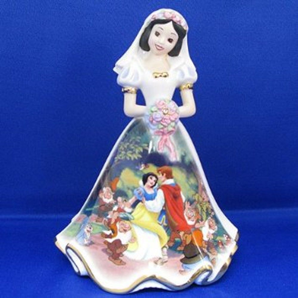 Happily ever after snow white figurine with certificate of