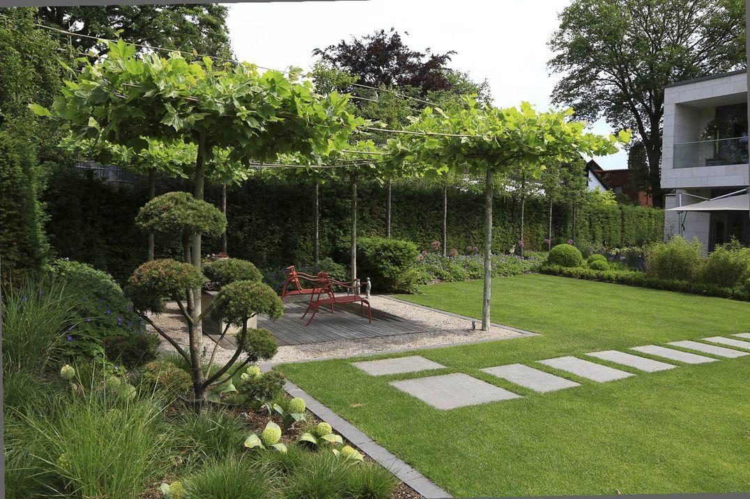 moderner Garten - modern garden Ein moderner Garten mit - moderne gartengestaltung exklusiver