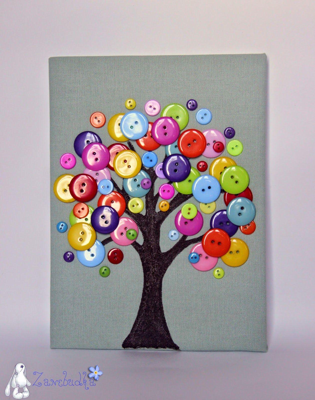 Сделать своими руками открытку из пуговиц своими руками, днем рождения