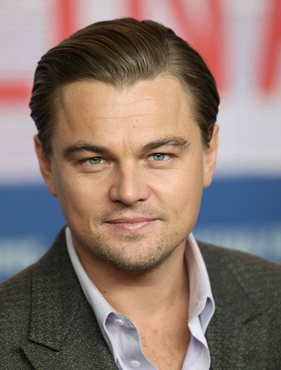 The Slicked Back Look Leonardo Dicaprio 2010 Leonardo Dicaprio Hair Leonardo Dicaprio Cool Hairstyles For Men