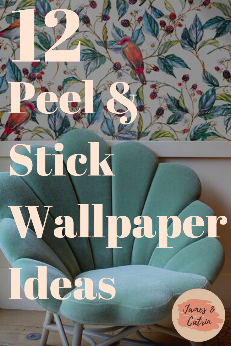 12 Stunning Peel Stick Wallpapers For Easy Instant Impact James And Catrin Wallpaper Accent Wall Peel And Stick Wallpaper Diy Decor Projects