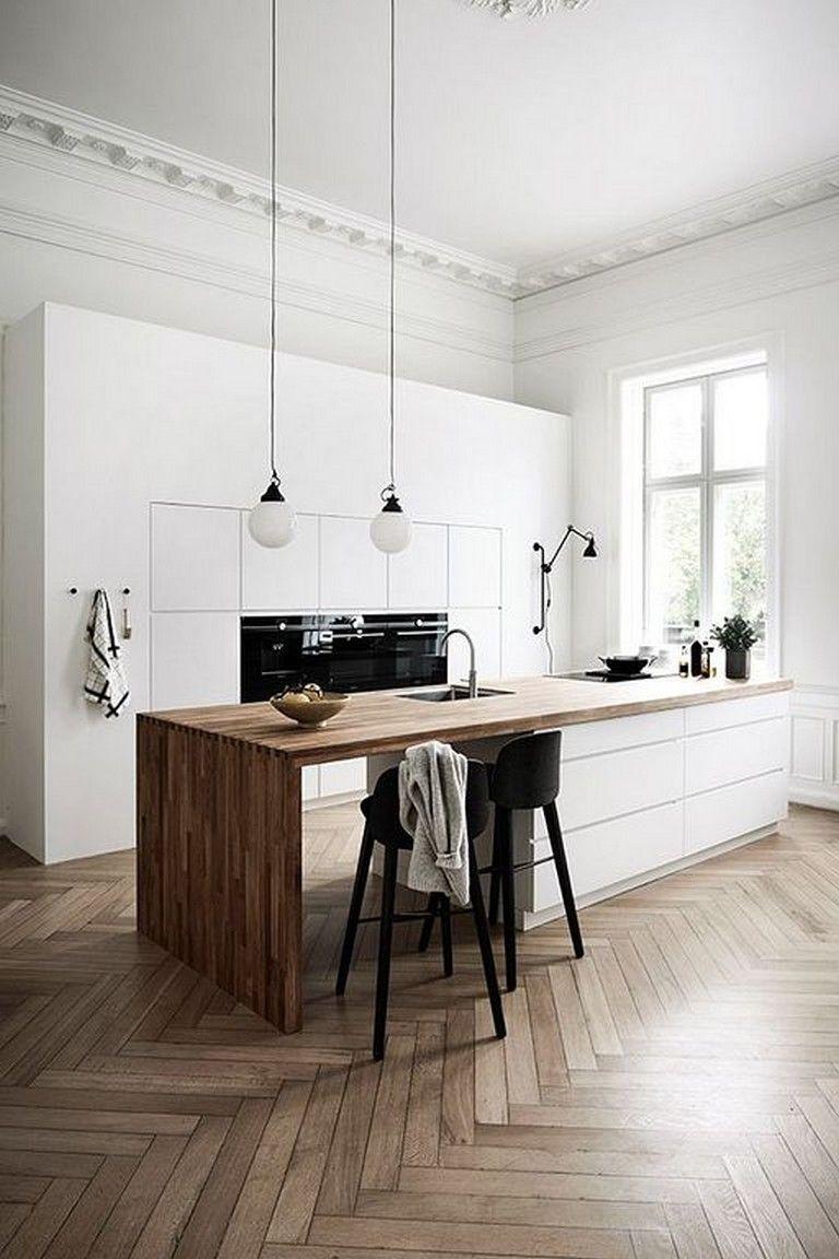 13 Minimalist Kitchen Ideas For A Modern House. Elegant ...