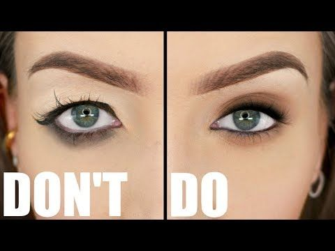 A Makeup Tutorial On The Things You Want To Avoid With Downturned Droopy Hooded Eyes And