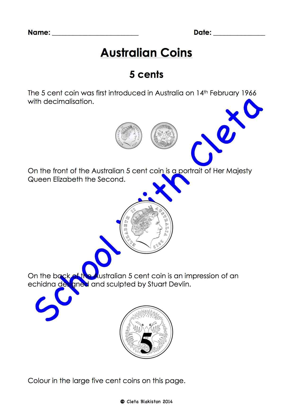 Australian Money Their Coins Images Amp Different Ways To