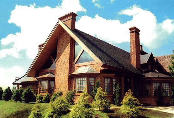 Fachadas de casas de campo modelos fotos cores - Exteriores de casas de campo ...