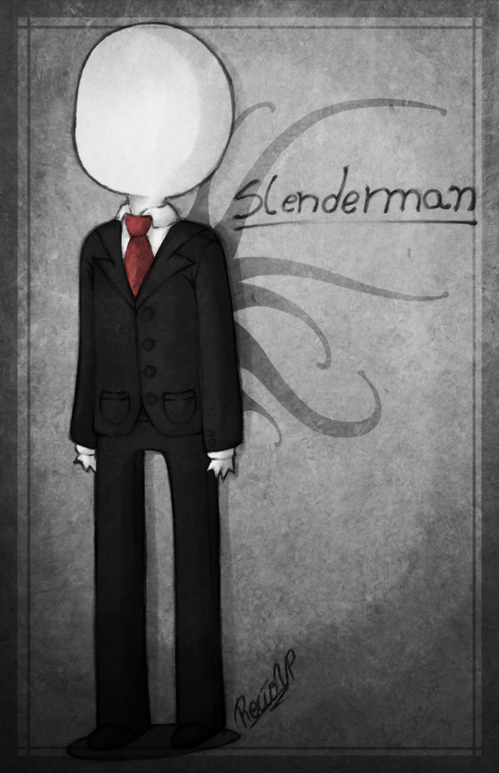 .Slenderman Chibi. by on