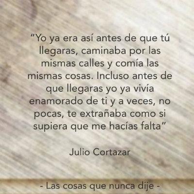 Julio Cortazar Frases Buscar Con Google Julio Cortazar