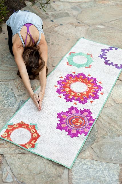 Good Karma / make a quilted yoga mat cover, pattern by Such Designs ...