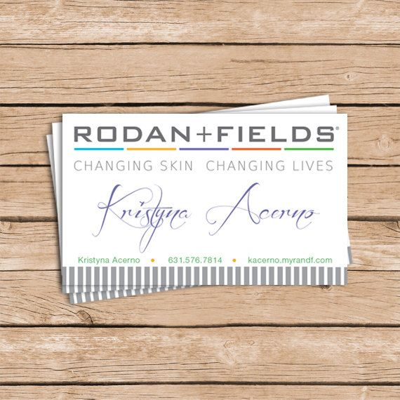 Business cards 100 250 skin care pinterest fields rodan and fields business cards please note shipping is included in the cost for printed invitations set contains either 100 or 250 cards colourmoves