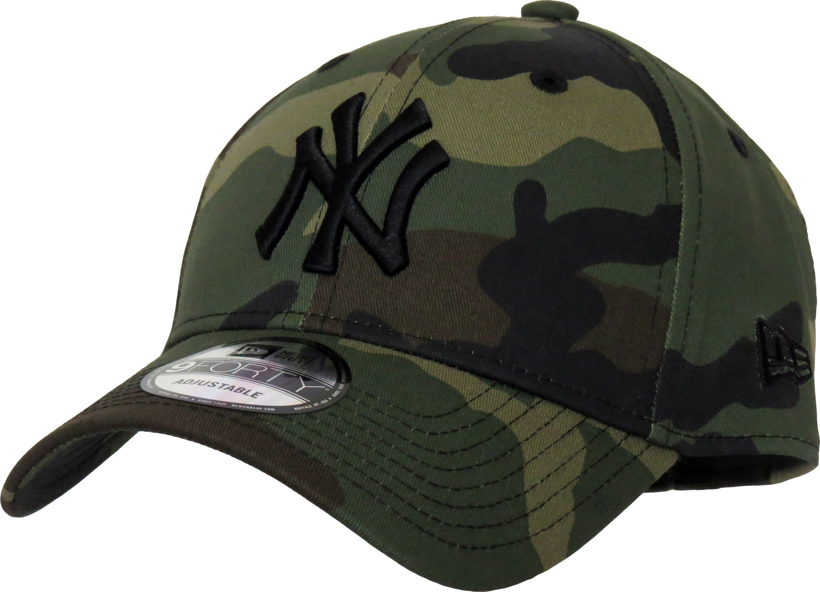 NY Yankees New Era 940 League Essential Camo Baseball Cap in 2019 ... 912c6a7d6fe