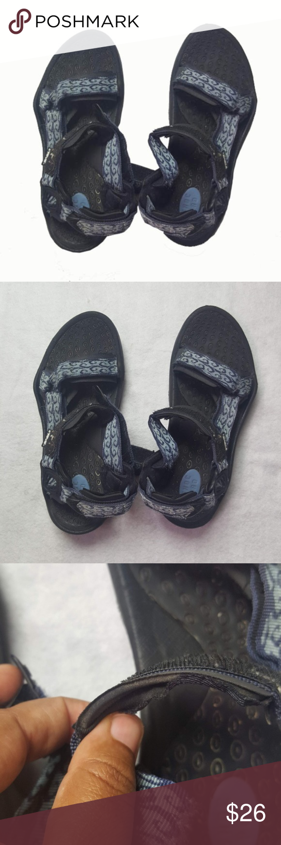 low priced cced2 d2a76 Comfortable TEVA Sandal TEVA SN 6800 - Well-worn condition ...