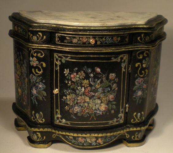 D h mobili credenza di janet ryburn miniatures d h mobili miniature furniture - Mobili stile vittoriano ...