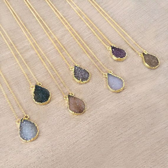 collier perle semi precieuse