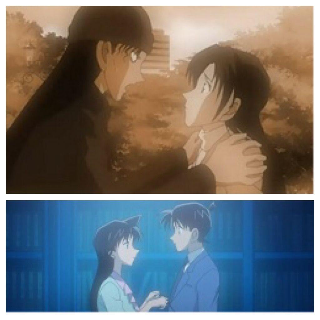 Shuichi Akai and Akemi Miyano | Ran Mouri and Shinichi Kudo