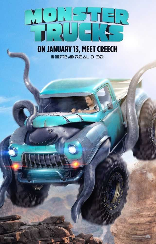 Watch Monster Trucks 2017 Movie Online Free Hd Movies I Ve