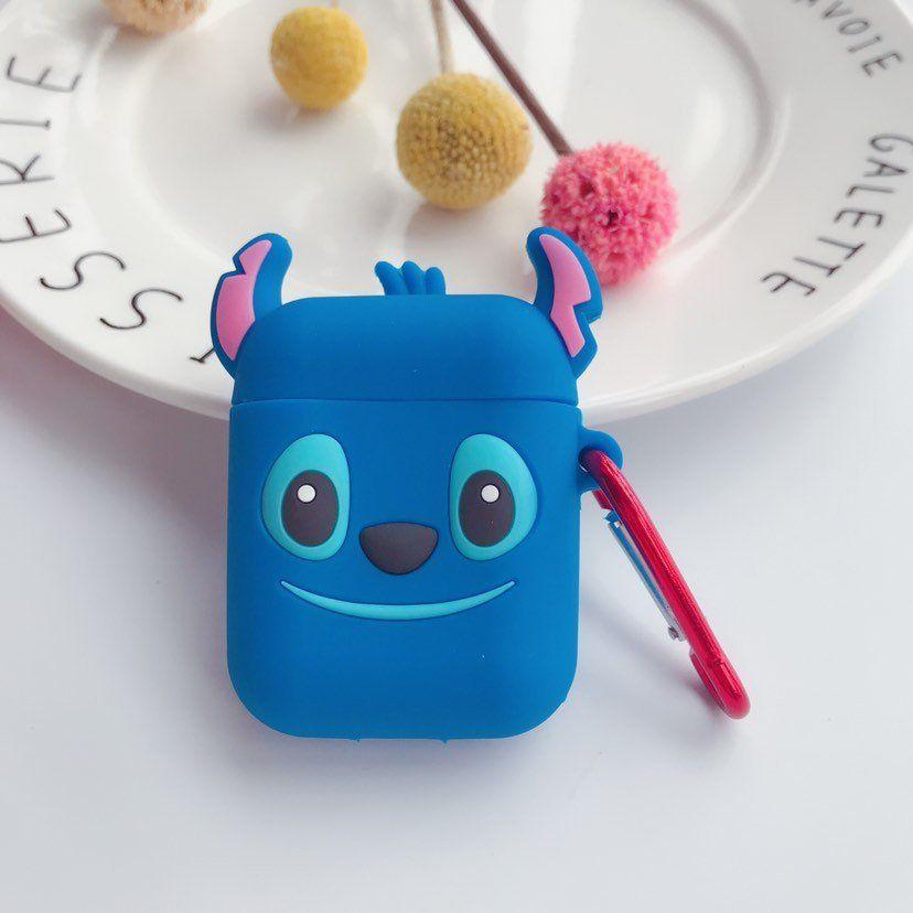 Blue Stitch Airpod Case for Apple