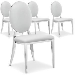 317e Achetez votre Lot de 4 chaises Sofia Blanc et faites le plein de promotion sur le salon. 20€ offerts pour 200€ et 40€ offerts pour 400€ d'achat. Livraison offerte dès 25€ ✓