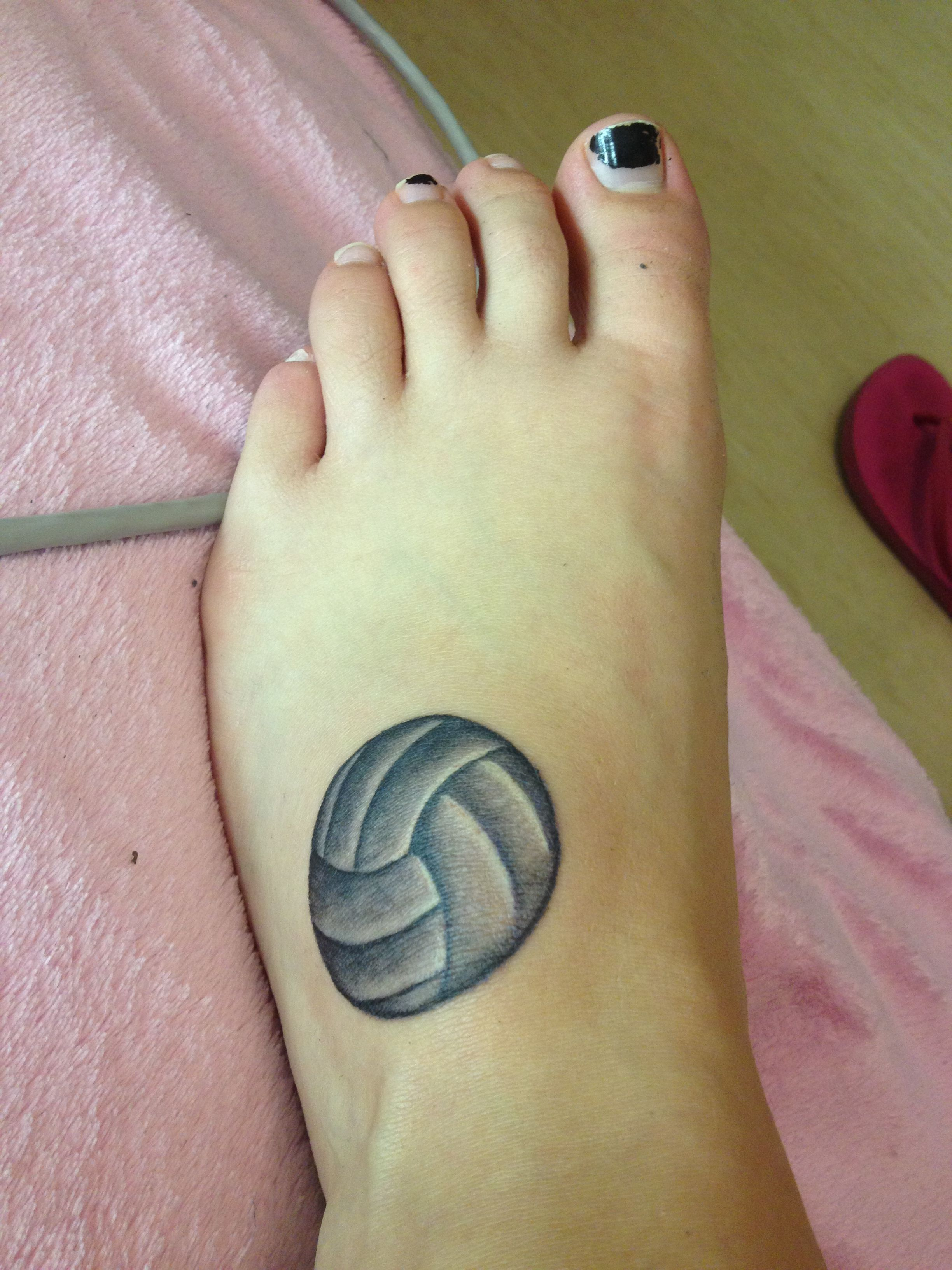 Volleyball Tattoo Voleibol