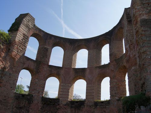 Roman Ruins in Germany