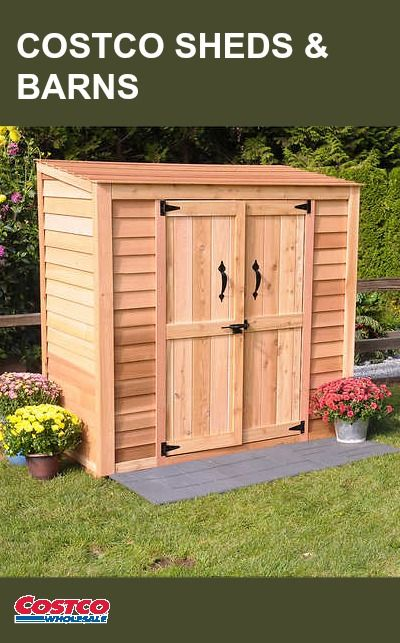 Check Out Costco S Selection Of Sheds And Barns Find 400 x 300