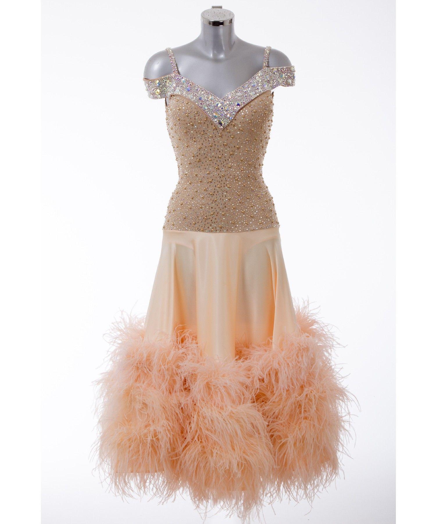 396326 Champagne Ballroom Dress | Ballroom dresses for ...