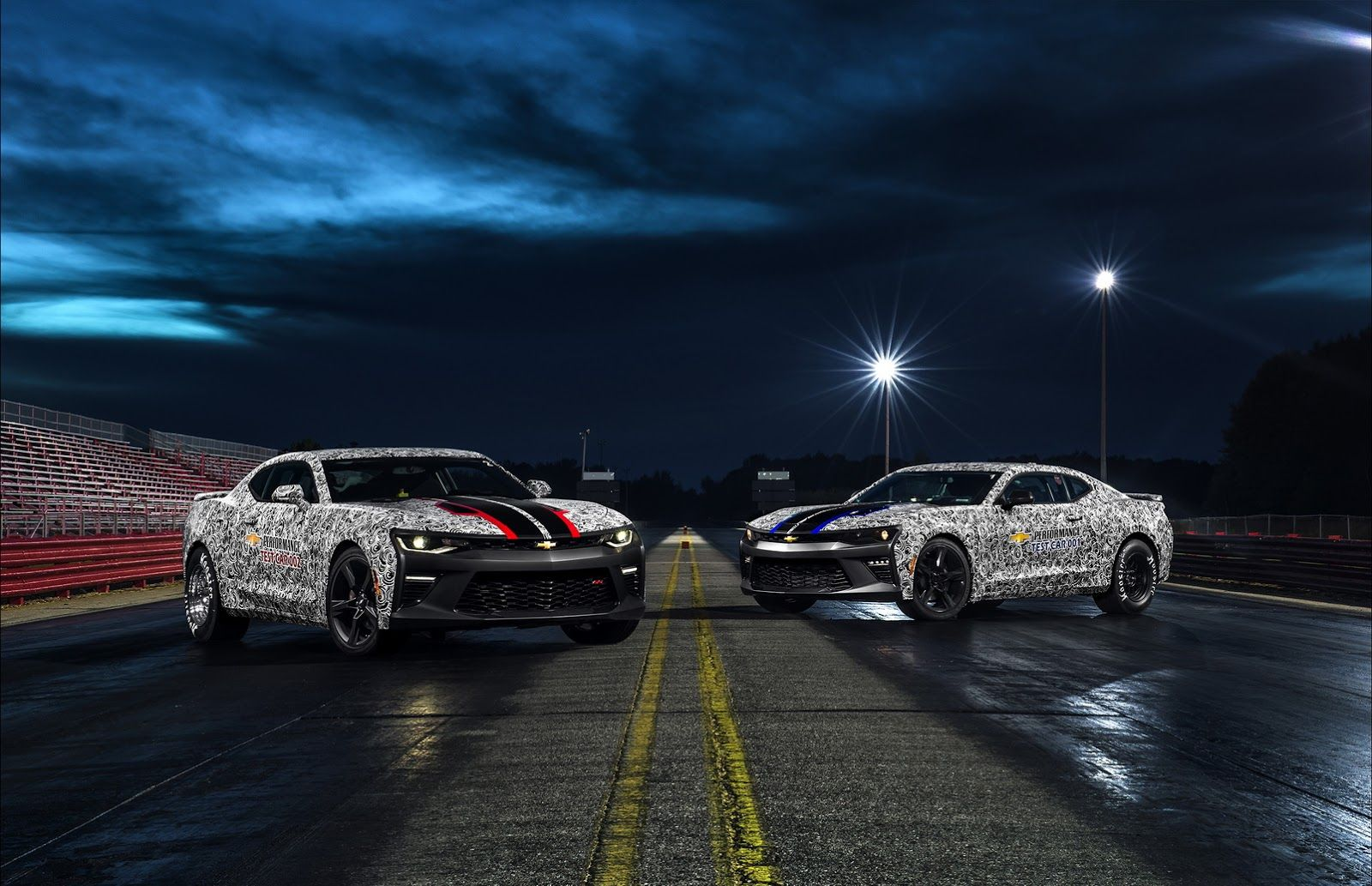 New 2017 Chevy Camaro Copo Ready To Conquer The 1 4 Mile Camaro